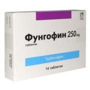 ФУНГОФИН ТБ 250МГ Х 14