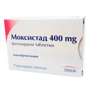 МОКСИСТАД ТБ 400МГ Х 7