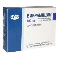 ВИБРАМИЦИН ТБ 100МГ Х 10