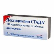 ДОКСИЦИКЛИН СТАДА 100МГ Х 20