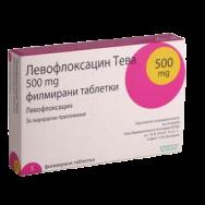 ЛЕВОФЛОКСАЦИН ТБ 500 МГ Х 5 ТЕВА