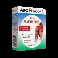 МАГНЕЗИЙ + Б-КОМПЛЕКС Х 30 АБОФАРМА | ABOPHARMA