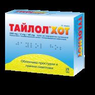 ТАЙЛОЛ ХОТ САШЕ Х 12